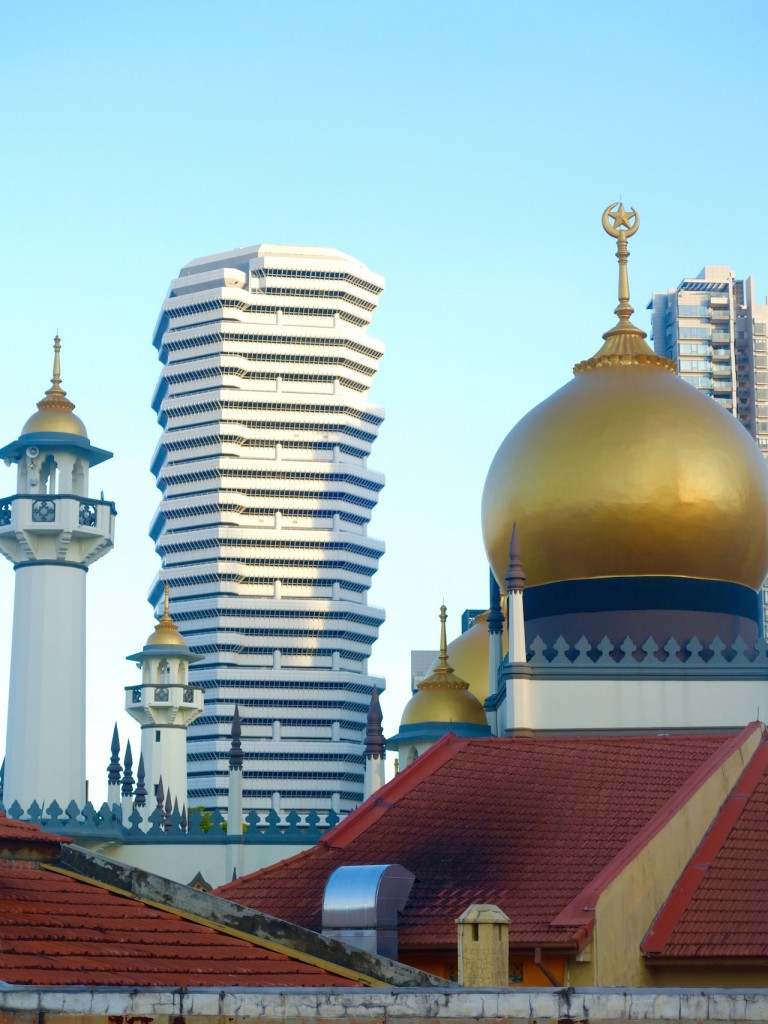 Singapur, Arab Street District, goldene Moschee