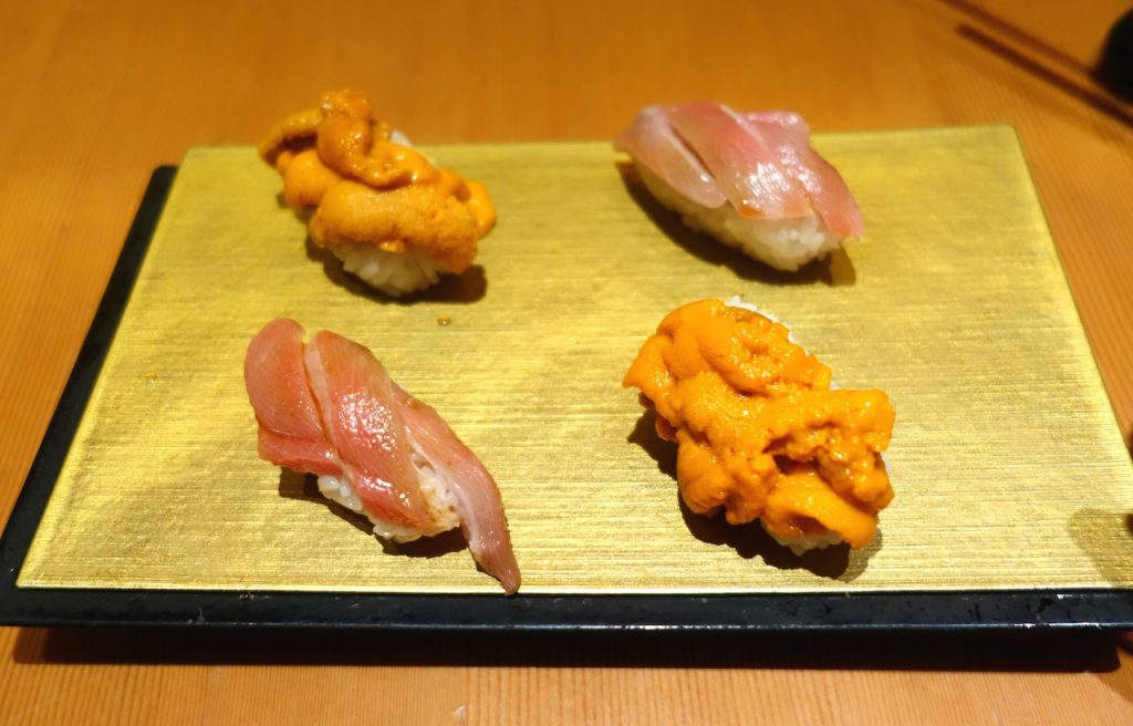 Uni, Seeigel Sushi