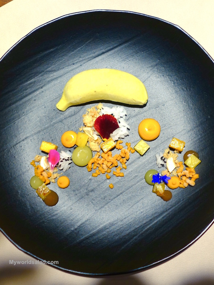 Banane Indisch by Kevin Fehling Michelin Star Chef Hamburg